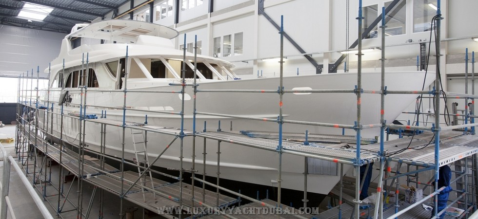 Our specialists can construct any type of yacht for you